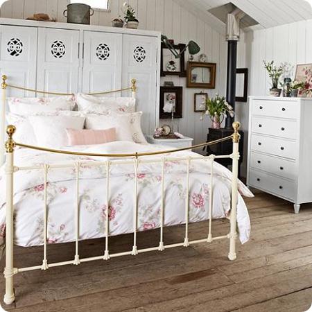 dormitorio-blanco-vintage