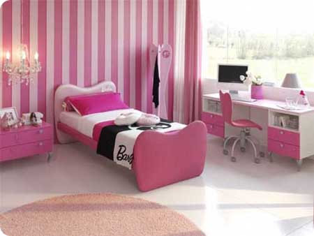 Cute-Pink-Girls-Room-Design-31