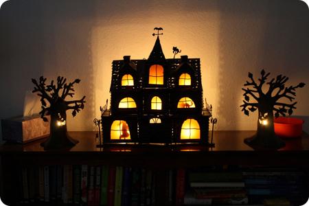 black-halloween-decorations